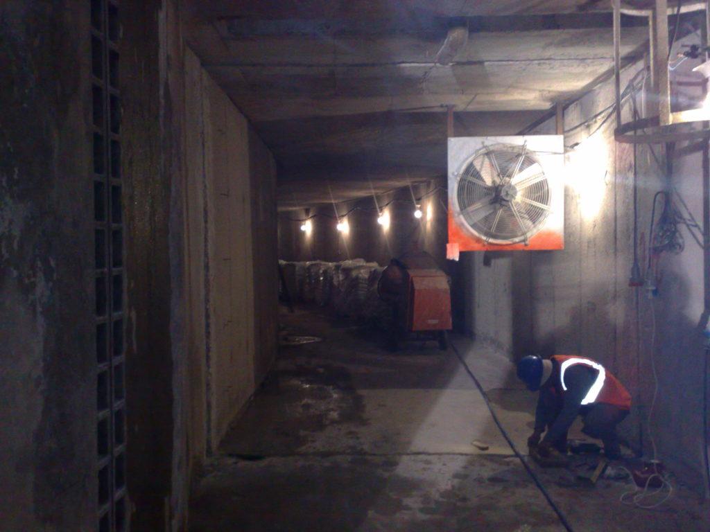 איטום מרתפים, מקלטים ומבנים תת-קרקעיים ביריעות ביטומניות